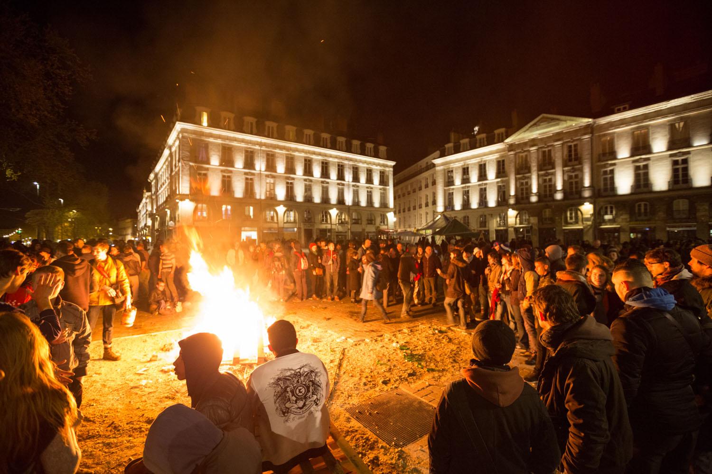 Première Nuit Debout à Nantes
