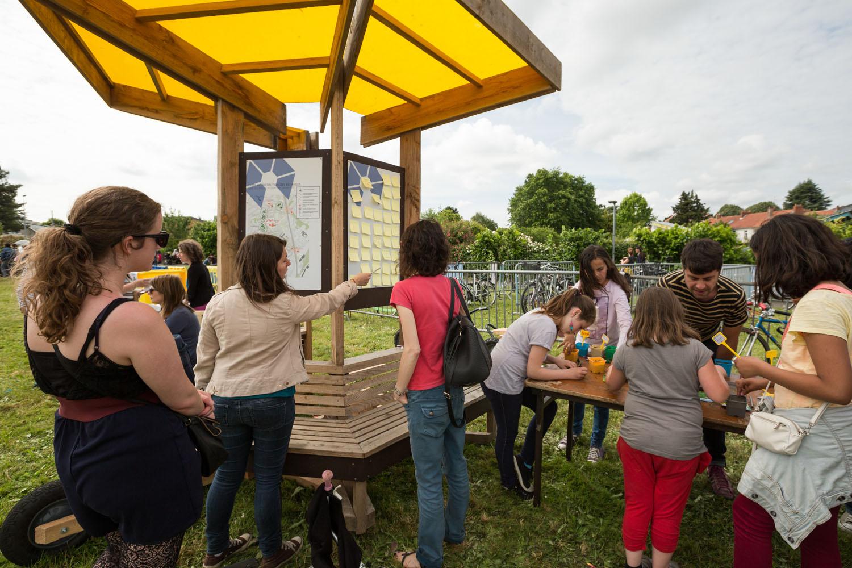 Ville Ouverte / Concertation avec les habitants                         Quartier Bottière, Nantes                 30 mai 2015