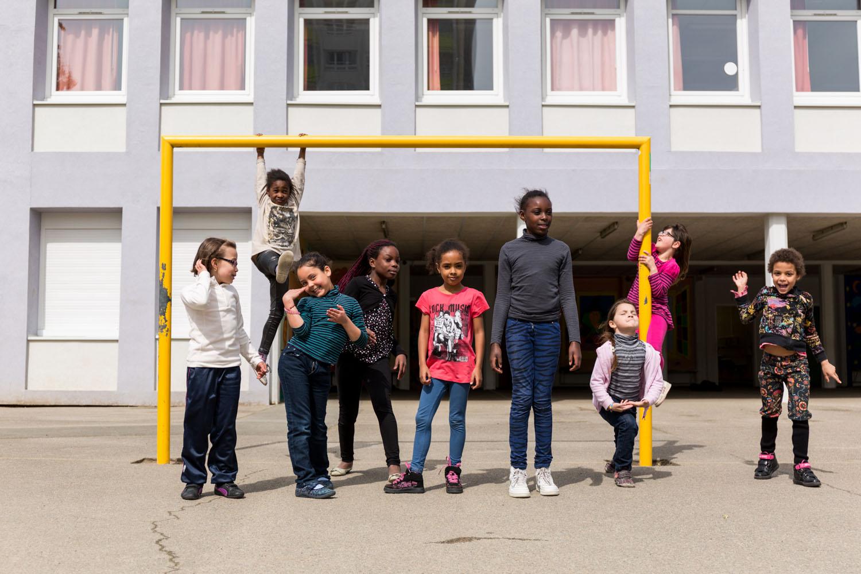 Projet de la Compagnie des Gens Debout au quartier de Bellevue à Nantes