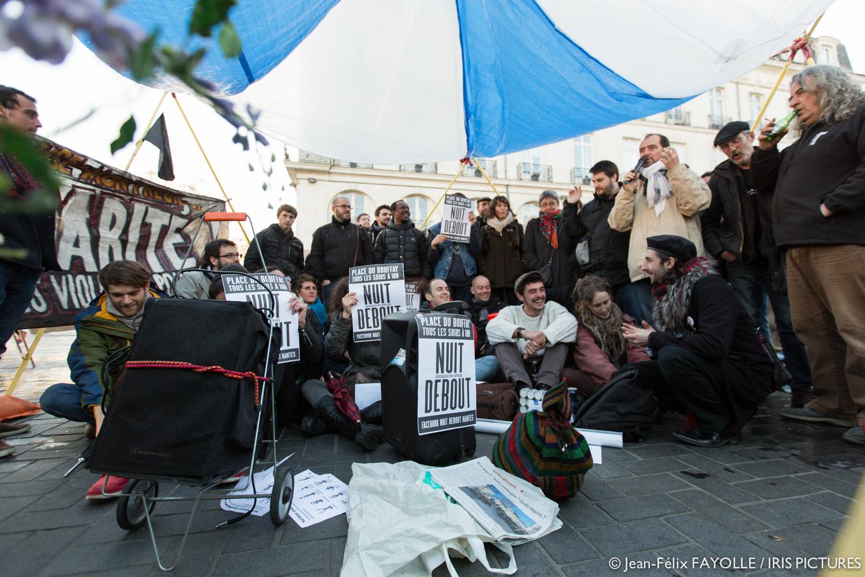 La Nuit Debout, ça continue à Nantes