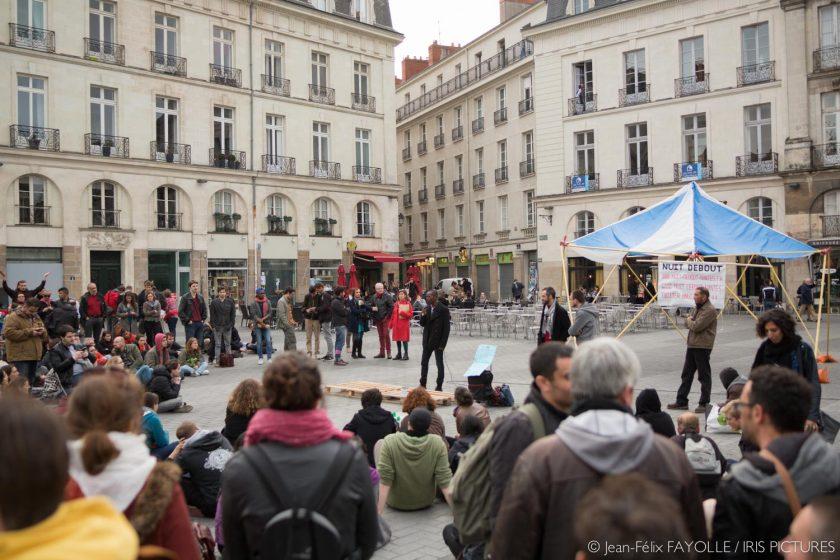 Nuit Debout Nantes 22 avril