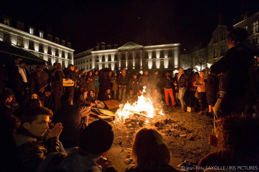 Nuit Debout du 9 avril à Nantes