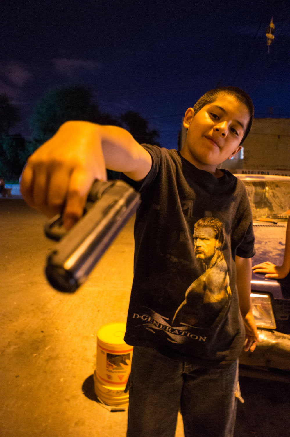 Meeting different gangs of rough areas in San Luis Potosi, 400 km north of City of Mexico (2007-2017). 