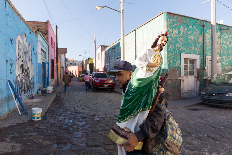 Caminata de San Luis Potosi (SLP) a San Juan de los Lagos (Jalisco) - 01 / 2017