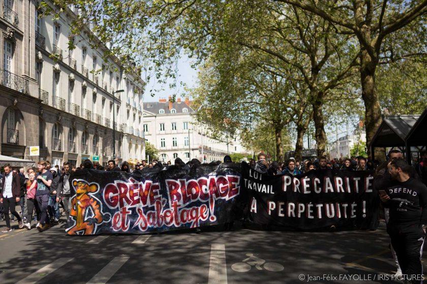 Manifestation anti loi El Khomri du 3 mai à Nantes