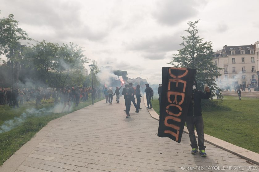 Manifestation interdite à Nantes