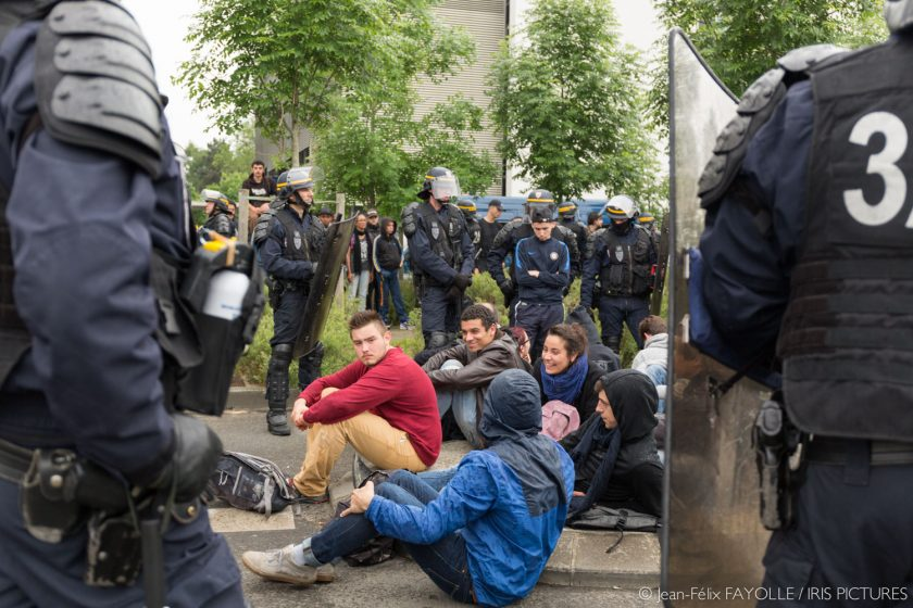 Manifestation interdite à Nantes le 26 mai 2016