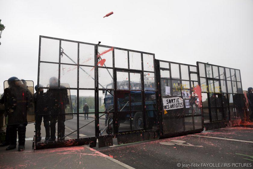 Manifestation contre le projet de loi travail à Nantes le 2 juin 2016