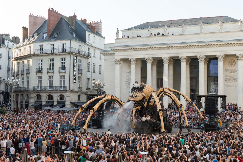 La Grande Araignée Kumo, Voyage à Nantes et Maker Faire